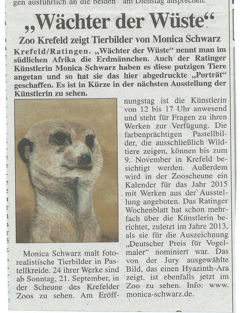 Ratinger Wochenblatt 18.09.2014