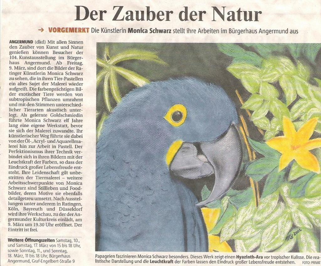 Rheinische Post 2. März 2007